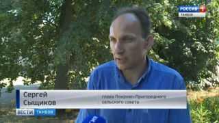 Жители Притамбовья страдают от засухи