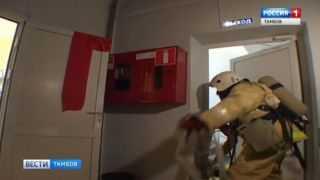 Врачи и пожарные - как единое целое: учения в третьей поликлинике