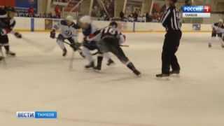 Тамбовские хоккеисты сразились с гостями из Твери