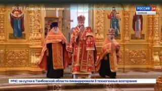 В Вознесенском монастыре провели вечернюю службу в честь праздника святого Илии Пророка