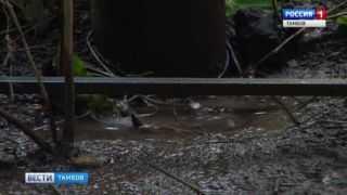 Порыв на трубопроводе на Рылеева устранен