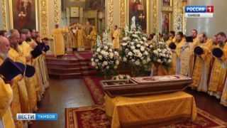 Православные Тамбова отметили двойной праздник